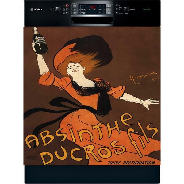 Appliance Art 'Parisian Absinthe' Vintage Dishwasher Cover