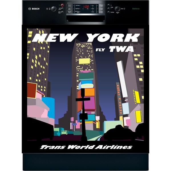 Appliance Art 'New York' Vintage Dishwasher Cover