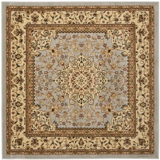 Safavieh Lyndhurst Traditional Oriental Grey/ Beige Rug (6' Square)