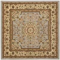 Safavieh Lyndhurst Traditional Oriental Grey/ Beige Rug - 6' Square