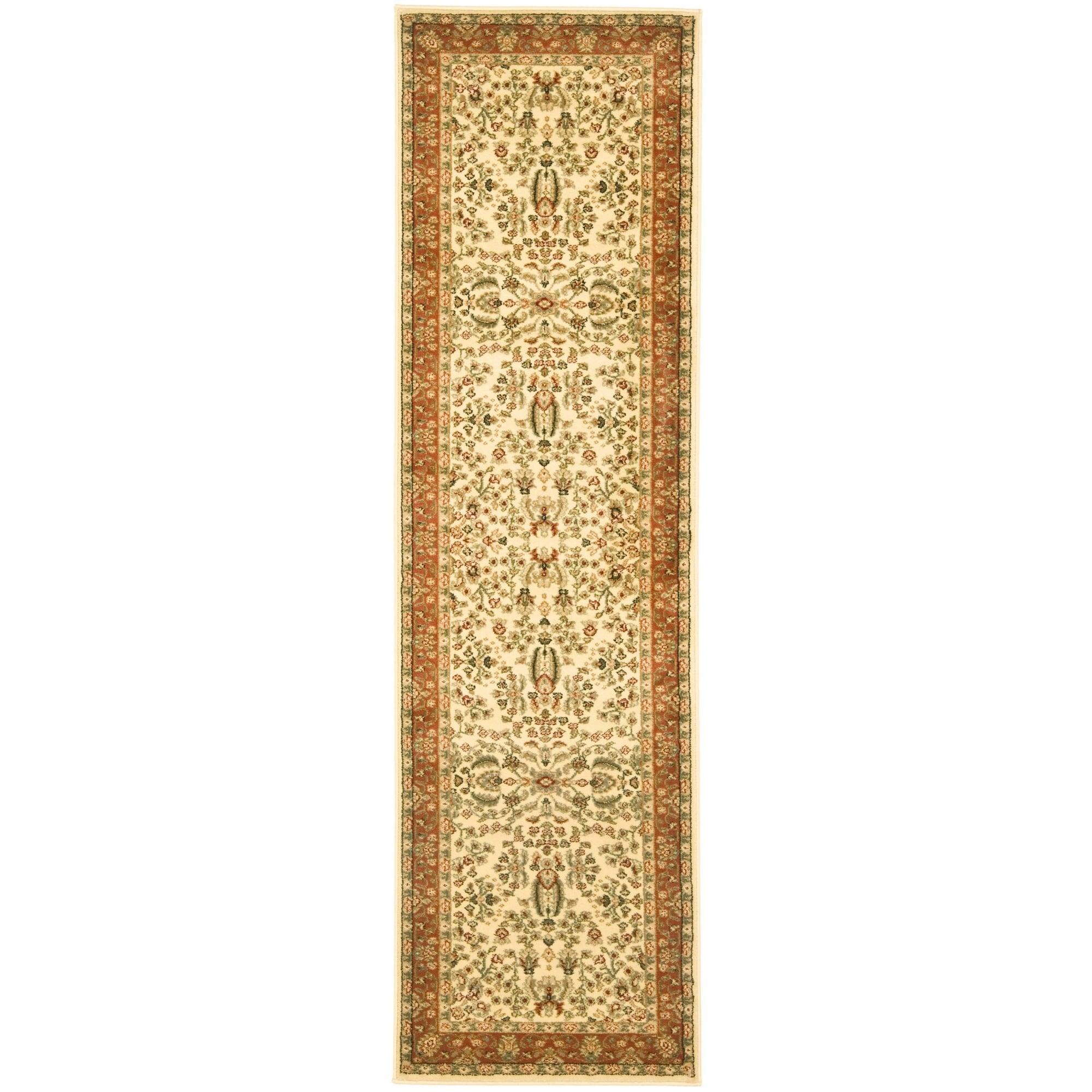 Safavieh Lyndhurst Traditional Oriental Ivory Rust Rug 2 3 X 10