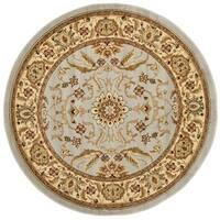 Safavieh Lyndhurst Traditional Oriental Grey/ Beige Rug (6' Round)