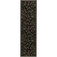 Safavieh Lyndhurst Traditional Oriental Black Rug - 2'3 x 20'