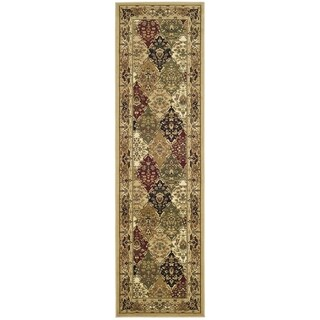 Safavieh Lyndhurst Traditional Oriental Multicolor/ Black Rug (2'3 x 10')