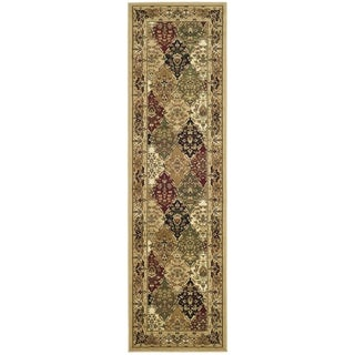 Safavieh Lyndhurst Traditional Oriental Multicolor/ Black Rug (2'3 x 22')