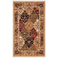 Safavieh Lyndhurst Traditional Oriental Multicolor/ Black Rug - 2'3 x 4'