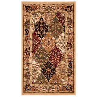 "Safavieh Lyndhurst Traditional Oriental Multicolor/ Black Rug - 2'3"" x 4'"