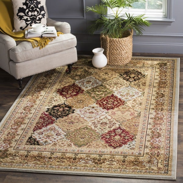 Safavieh Lyndhurst Traditional Oriental Grey/ Multicolored Area Rug (8' x 11')
