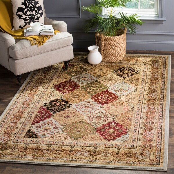 Safavieh Lyndhurst Traditional Oriental Grey/ Multicolored Rug - 9' x 12'