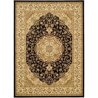Safavieh Lyndhurst Traditional Oriental Black/ Ivory Rug (8'11 x 12')