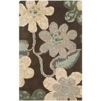 Safavieh Handmade Bella Brown Wool/ Viscose Rug (2'6 x 4')