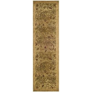 Safavieh Lyndhurst Traditional Paisley Beige Rug (2'3 x 10')