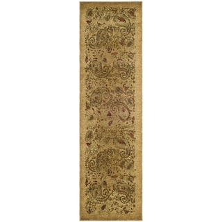 Safavieh Lyndhurst Traditional Paisley Beige/ Multi Rug (2'3 x 22')