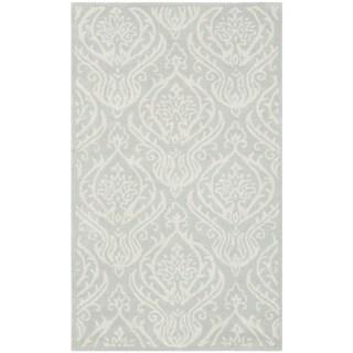 Safavieh Handmade Bella Silver Wool/ Viscose Rug (3' x 5')