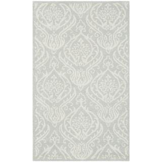Safavieh Handmade Bella Silver Wool/ Viscose Rug (4'x 6')