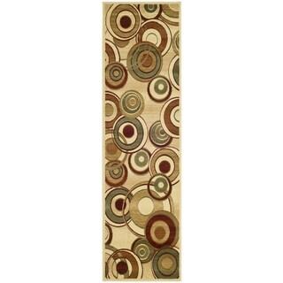 Safavieh Lyndhurst Contemporary Ivory/ Multi Rug (2'3 x 22')