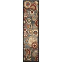 Safavieh Lyndhurst Contemporary Grey/ Multicolored Rug (2'3 x 11')