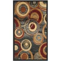 Safavieh Lyndhurst Contemporary Grey/ Multicolored Rug - 2'3 x 4'