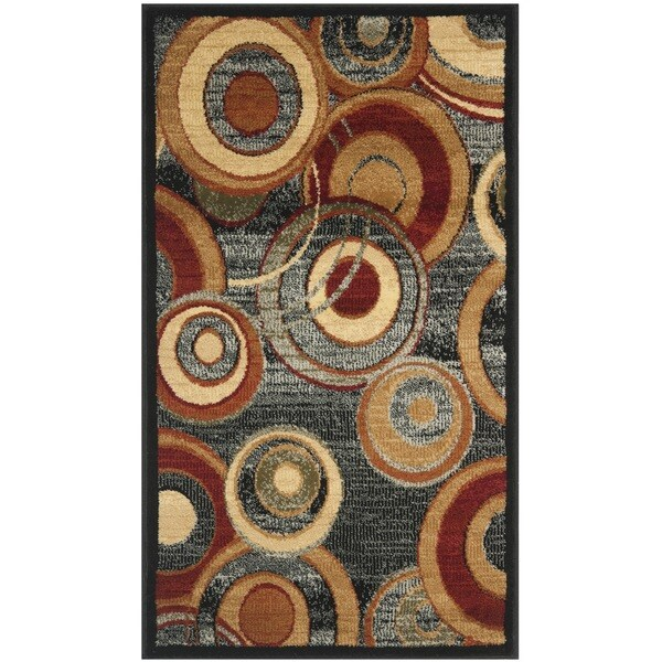 Safavieh Lyndhurst Contemporary Grey/ Multicolored Rug (2'3 x 4') - 2'3 x 4'