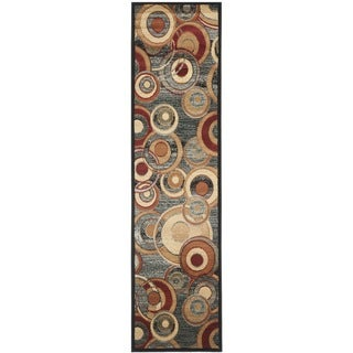 Safavieh Lyndhurst Contemporary Grey/ Multicolored Rug (2'3 x 7')