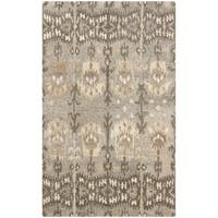 Safavieh Handmade Wyndham Natural Ivory New Zealand Wool Rug - 2'6 x 4'