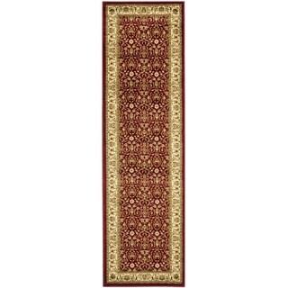 Safavieh Lyndhurst Traditional Oriental Burgundy/ Ivory Rug (2'3 x 10')