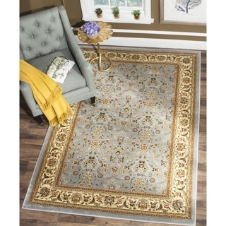 Safavieh Lyndhurst Traditional Oriental Light Blue/ Ivory Rug (11' x 15')