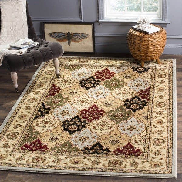 Safavieh Lyndhurst Traditional Oriental Grey/ Multicolored Rug - 8'11 x 12'