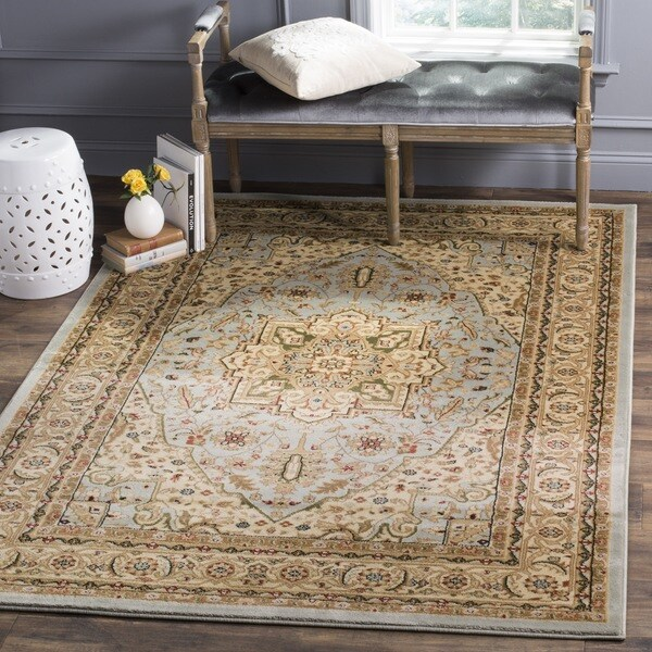 Safavieh Lyndhurst Traditional Oriental Grey/ Beige Area Rug (8' x 11')