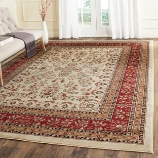 Safavieh Lyndhurst Traditional Oriental Ivory/ Red Rug (8'11 x 12')