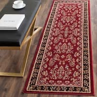 Safavieh Lyndhurst Traditional Oriental Red/ Black Rug - 2'3 x 10'