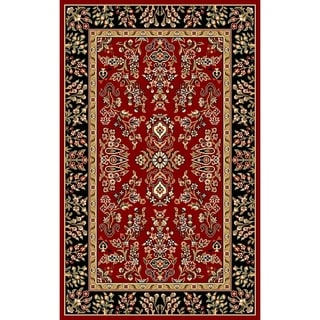 Safavieh Lyndhurst Traditional Oriental Red/ Black Rug (2'3 x 4')