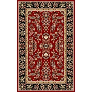 "Safavieh Lyndhurst Traditional Oriental Red/ Black Rug - 2'3"" x 4'"