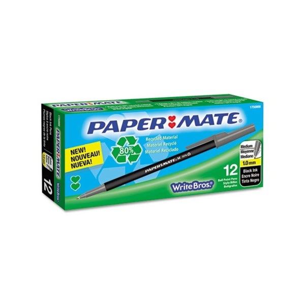 Paper Mate Write Bros Recycled Ball Point Stick Pen