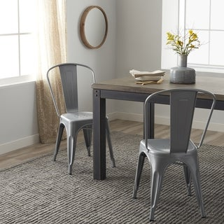 Tabouret Bistro Steel Dining Chairs (Set of 2)