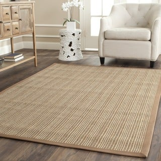 Safavieh Casual Natural Fiber Dream Beige Sisal Rug (6' Square)