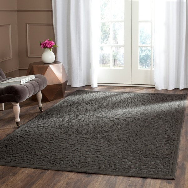 Safavieh Paradise Charcoal Grey Viscose Rug (8' x 11' 2)