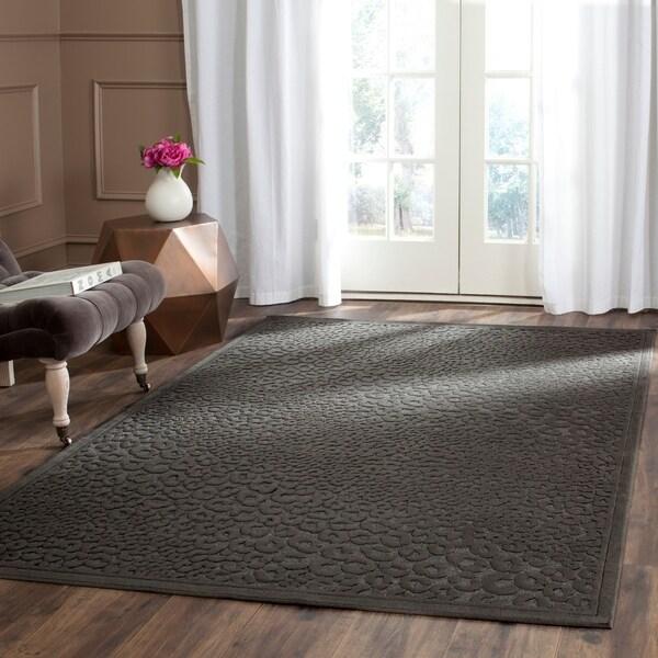 Safavieh Paradise Charcoal Grey Viscose Rug - 8' x 11'2