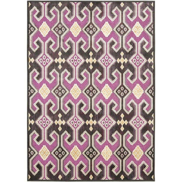 Safavieh Paradise Purple Viscose Rug (5' 3 x 7' 6)