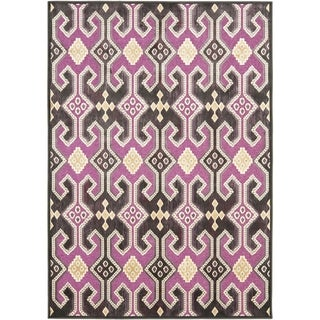 Safavieh Paradise Purple Viscose Rug (8' x 11' 2)