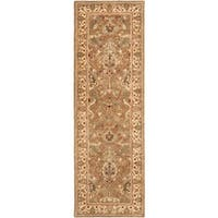 Safavieh Handmade Mahal Beige New Zealand Wool Rug - 2'6 x 20'