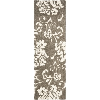 Safavieh Ultimate Smoke/ Beige Shag Rug (2'3 x 9')