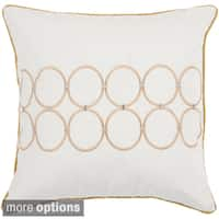 Greenwood Feather Down or Poly Filled Throw Pillow