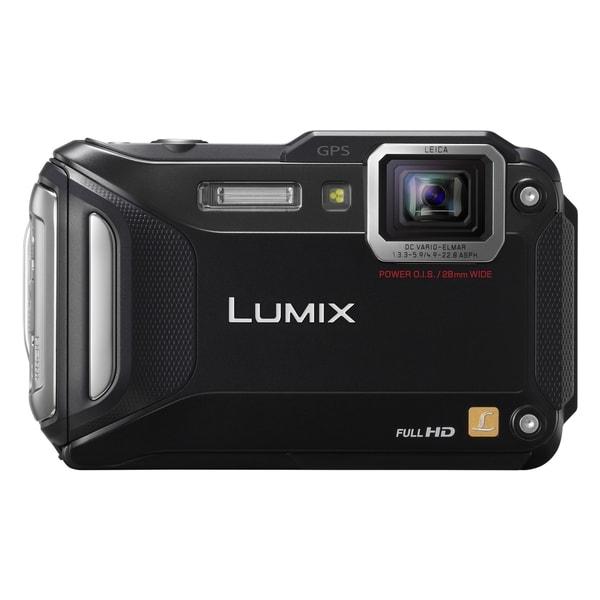 Panasonic Lumix DMC-TS5 16.1 Megapixel Compact Camera - Black