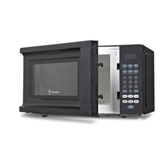 Westinghouse Black 0.7 cubic foot Microwave