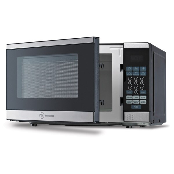 Westinghouse Black / Stainless Steel 0.7 Cubic Feet Microwave