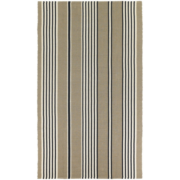Maine Stay Freeport Buttered Rum Cotton Rug - 8' x 10'