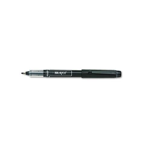Pilot Bravo! Bold Porous Point Water-Based Black Marker Pen