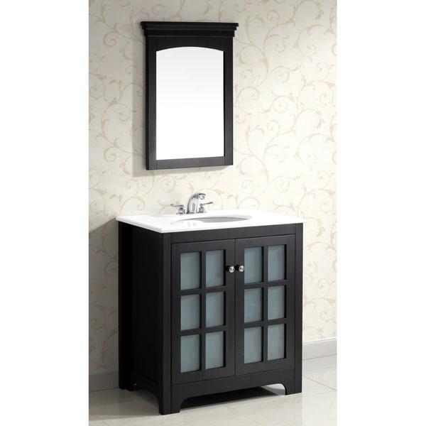 wyndenhall louisiana black 30 inch bath vanity with 2