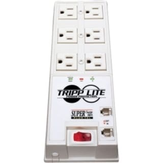 Tripp Lite Surge Protector Power Strip 6 Outlet 6' Cord 3040 Joules T